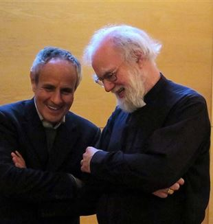 Julián Carrón y Rowan Williams