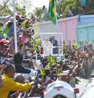 El papa Francisco en Port Louis