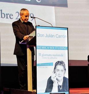 Julián Carrón en Florencia